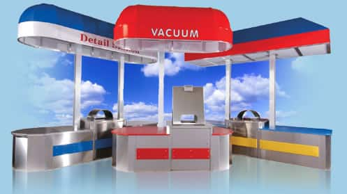 vacuum canopy pennsylvania car wash equipment